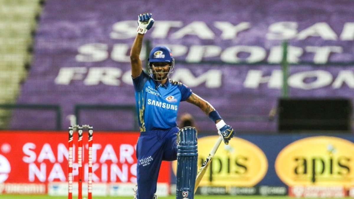 IPL 2020 | Hardik Pandya takes the knee in support of Black Lives Matter movement