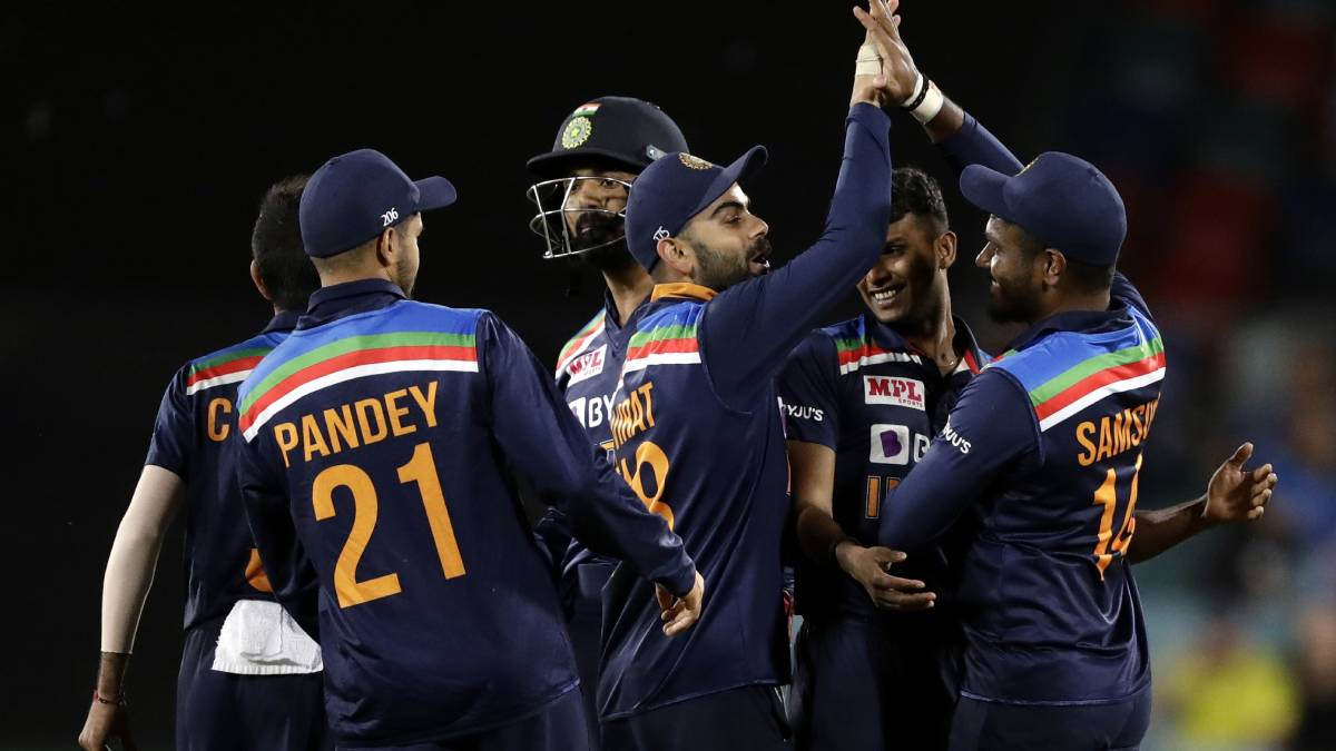 Team India equal Pakistan's T20I streak with Canberra win