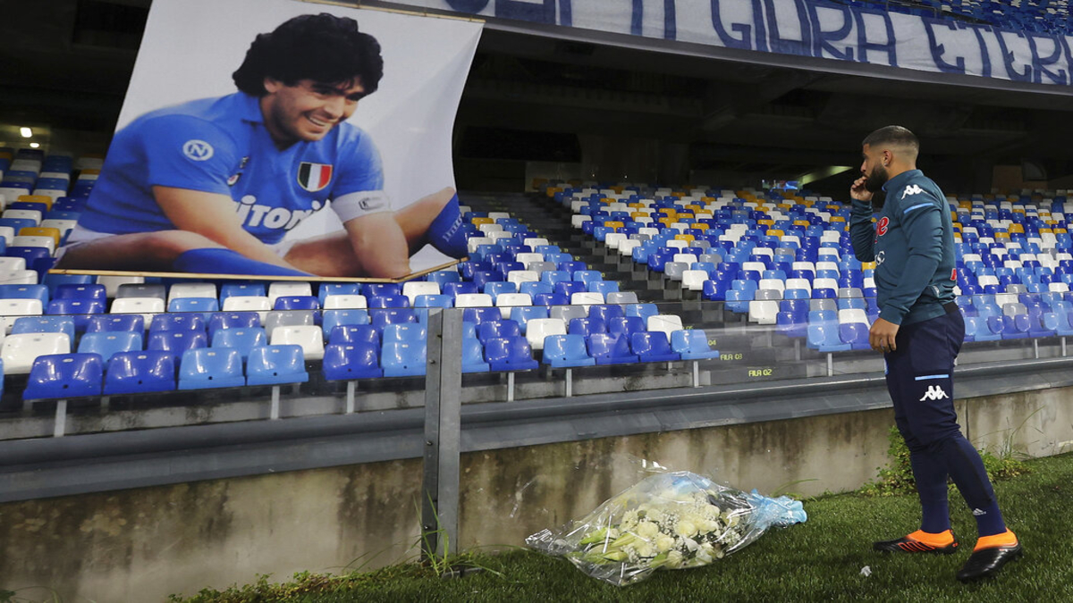 Napoli rename their stadium after Diego Maradona as a tribute to Argentine legend