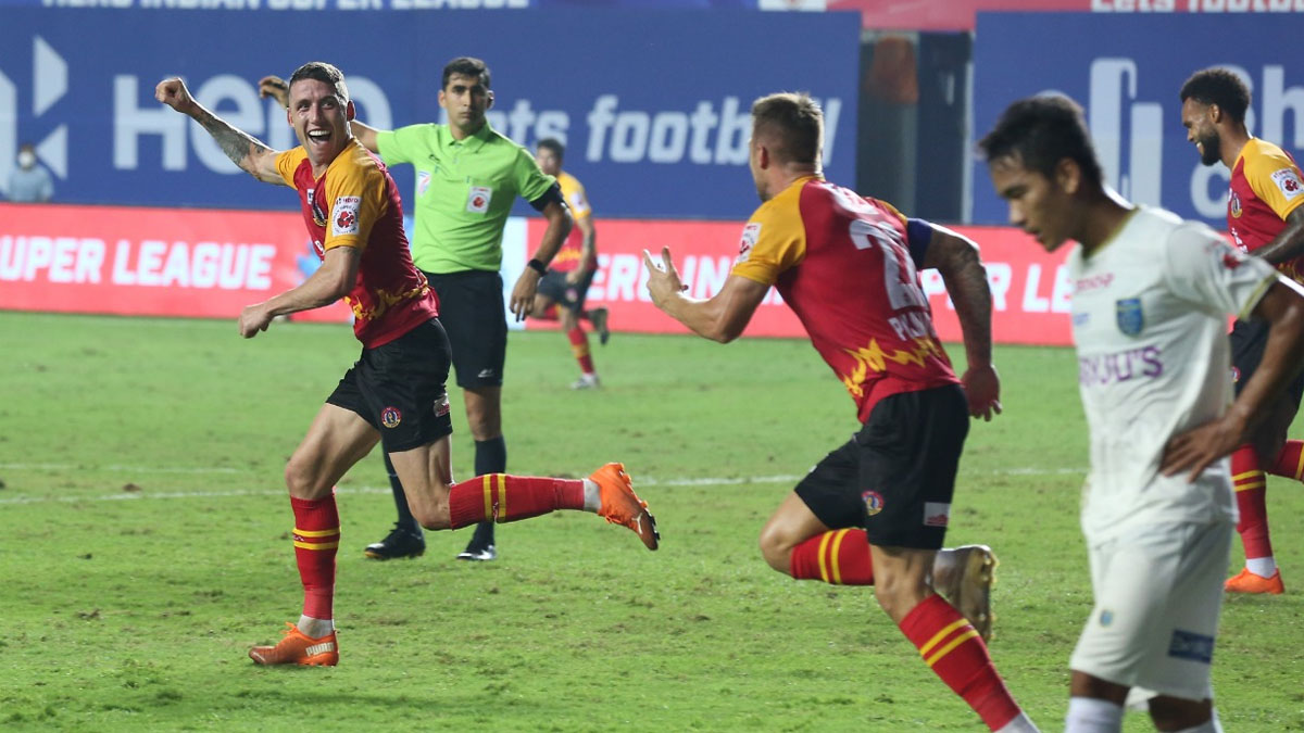 ISL 2020/21: Scott Neville secures draw for SC East Bengal with late equaliser against Kerala Blaste