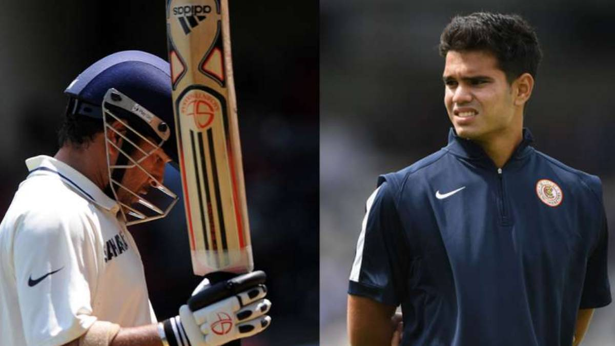 Coincidence much? Fans point out similarity between Sachin Tendulkar and son Arjun