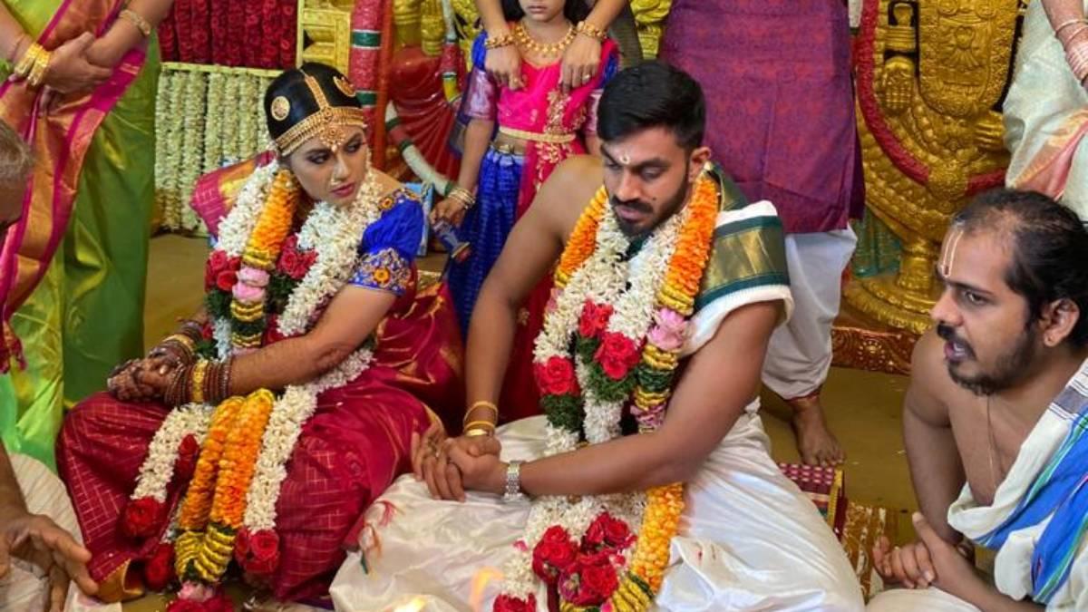 India cricketer Vijay Shankar ties knot