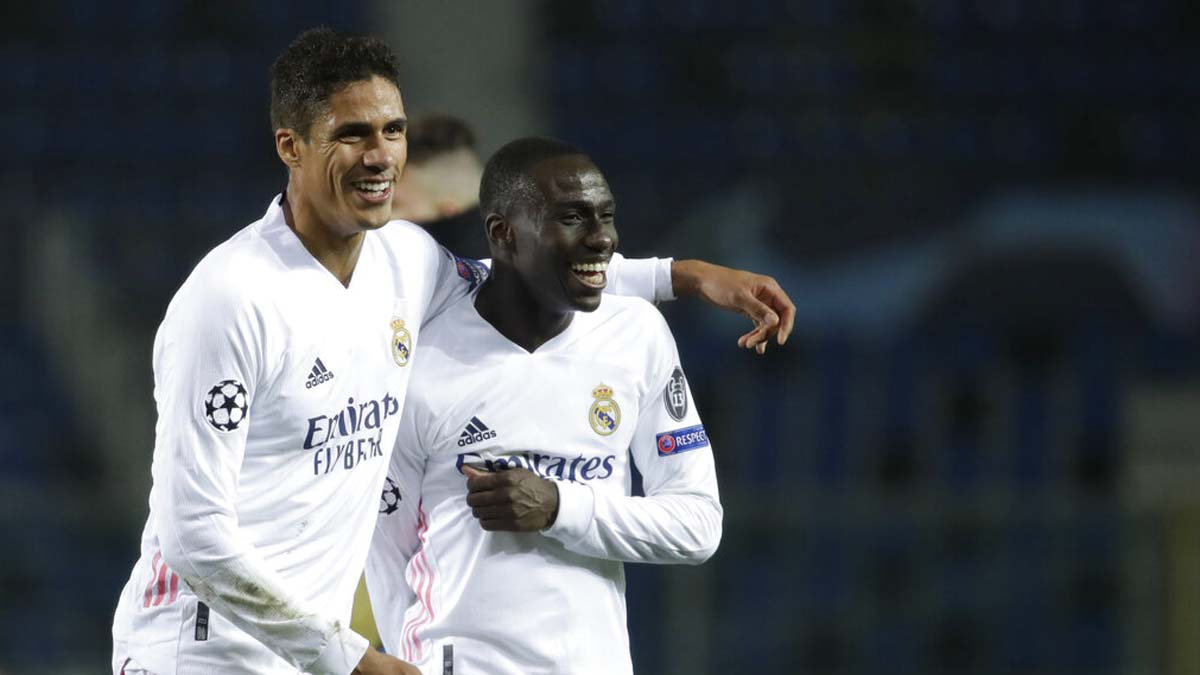 Champions League: Ferland Mendy's late goal gives Real Madrid 1-0 win over Atalanta
