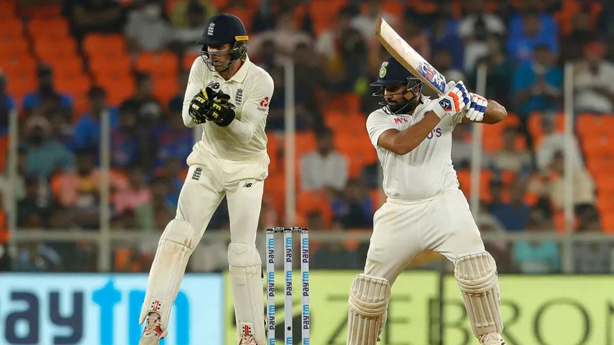 3rd Test: Rohit's fifty cements India's dominance on day 1 after Axar's six-for