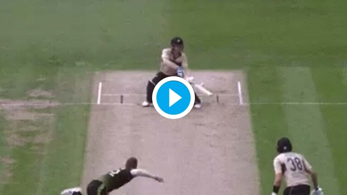 'What do we call this shot?': James Neesham hits unbelievable six in 2nd T20I against Australia