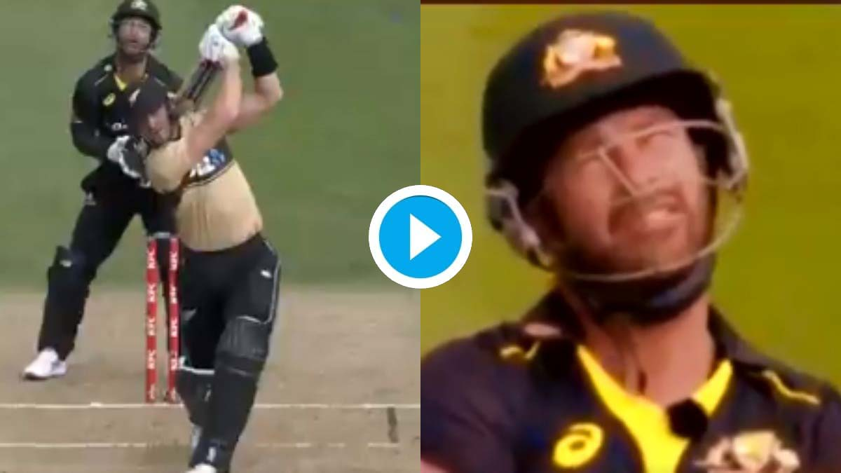 NZ vs AUS: Matthew Wade's priceless reaction sums up Martin Guptill's monstrous six in 2nd T20I