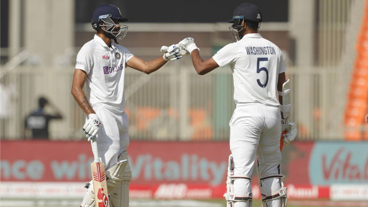 IND vs ENG 4th Test | Sundar left stranded on 96 after creating unique partnership record with Axar