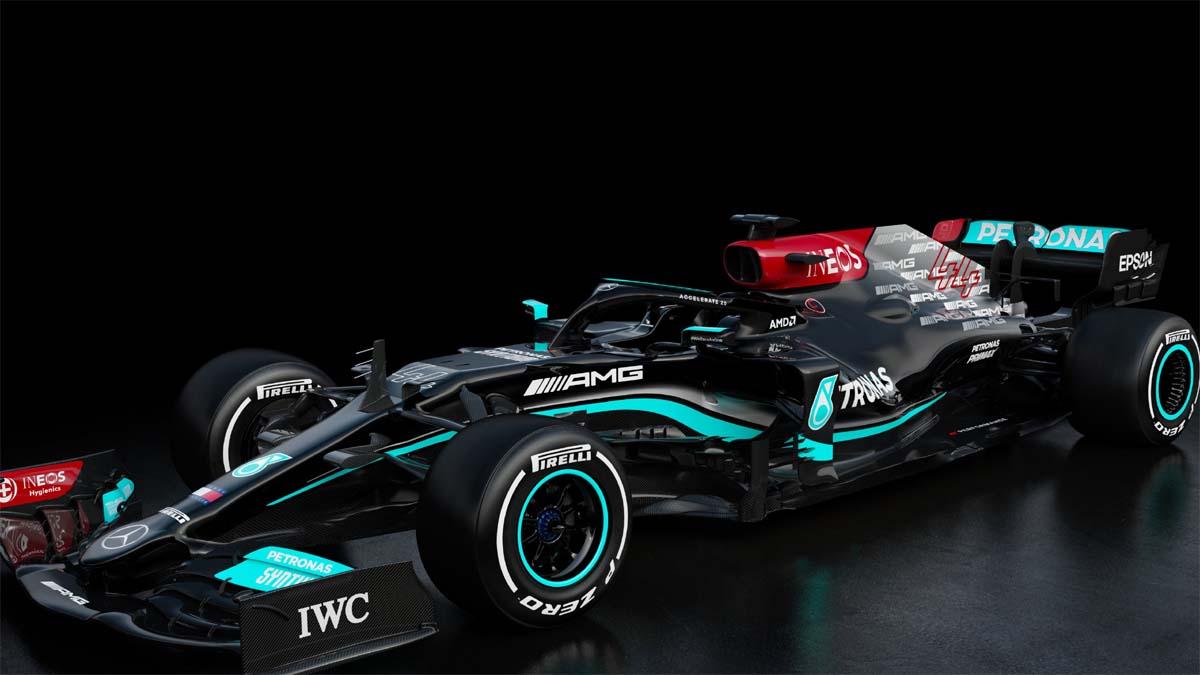 Mercedes unveils car for Lewis Hamilton's record-breaking F1 bid