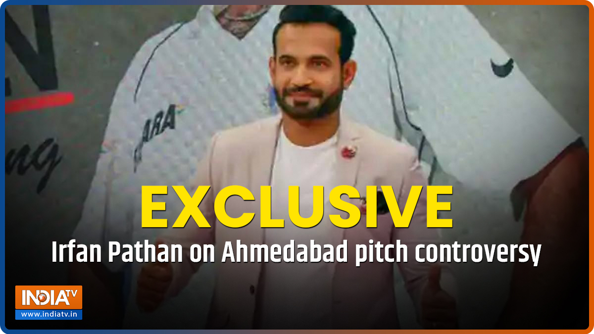 EXCLUSIVE   Rohit's batting shows Ahmedabad pitch wasn't poor, India will win series 3-1: Irfan