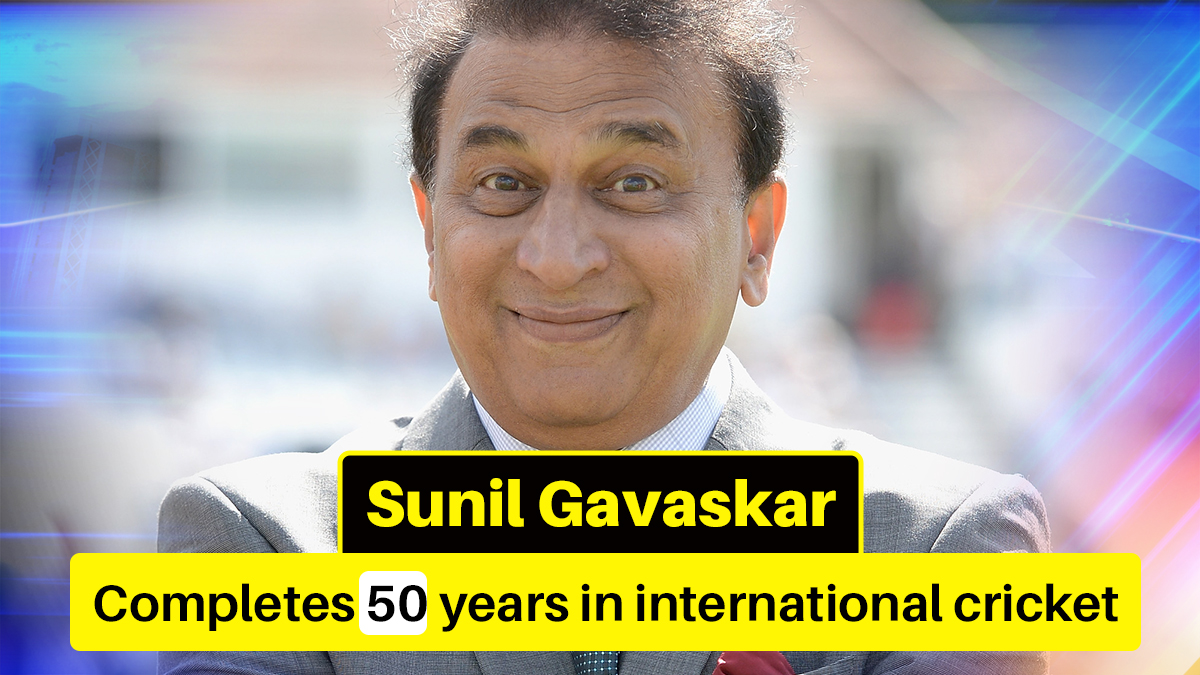 Sunil Gavaskar completes 50 years since India debut; Tendulkar, Raina pay tribute to legend