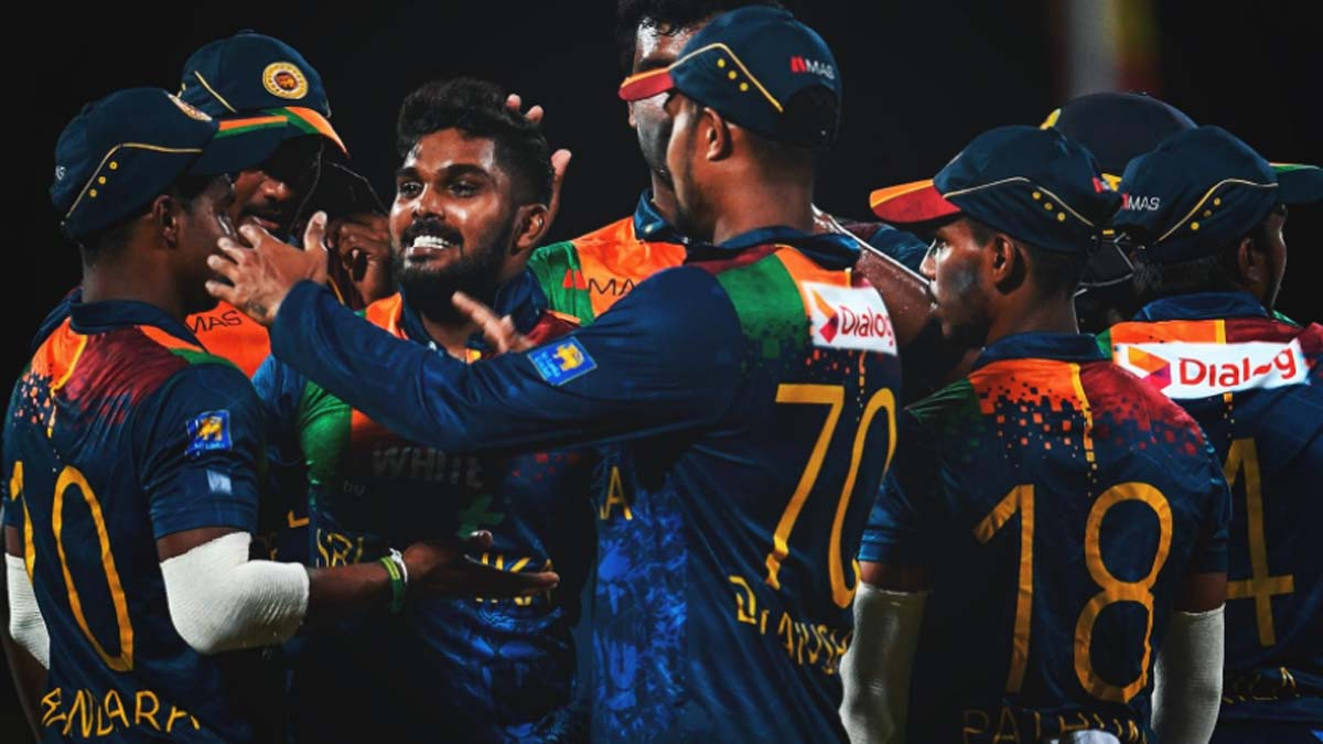 WI vs SL: Sri Lanka secure 43-run win to level three-match T20I series 1-1