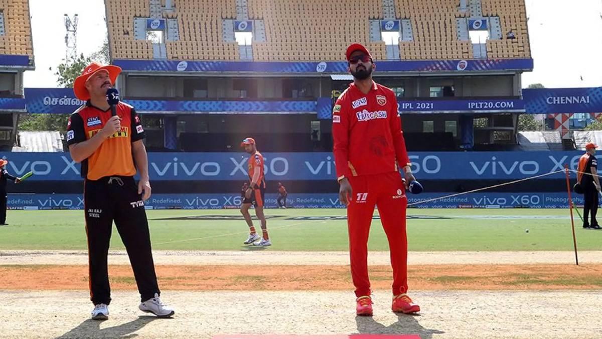 IPL 2021: PBKS opt to bat first vs SRH; Kane Williamson walks in playing 11 for Mujeeb
