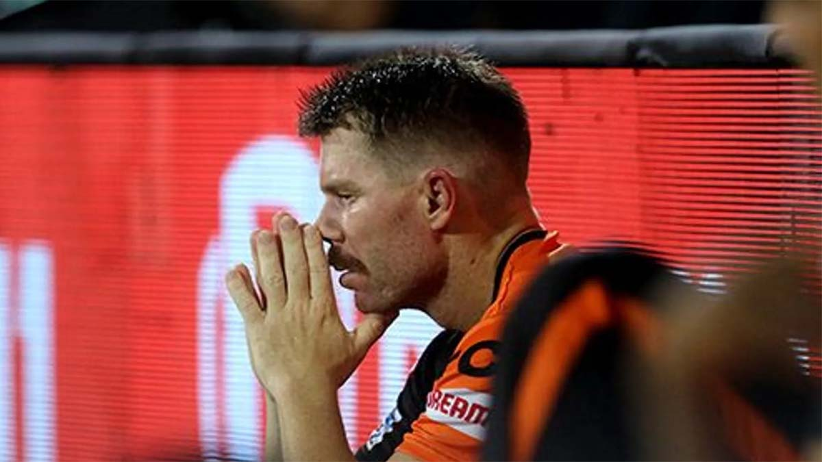 'Disappointed' Warner calls for 'smart cricket' after SRH's third-straight loss