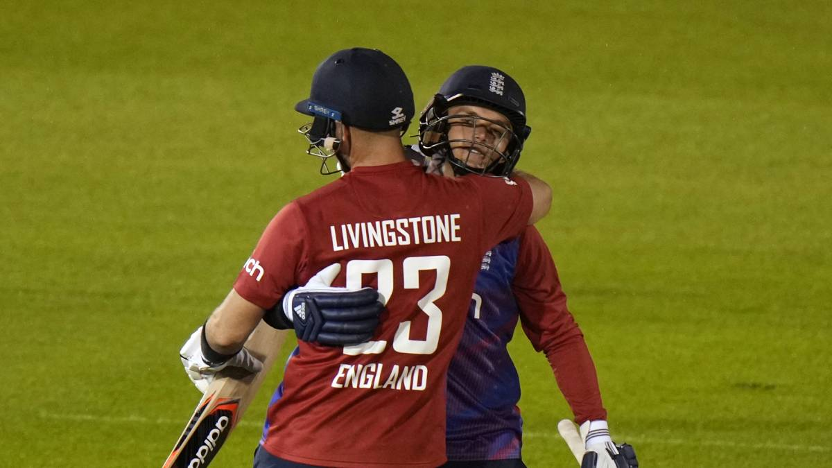 SL vs ENG   Liam Livingstone, Sam Billings steer England to 5-wicket win in rain-affected 2nd T20I